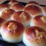 オレンジピール×クリームチーズのパン